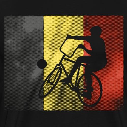 Radball | Flagge Belgien - Männer Premium T-Shirt