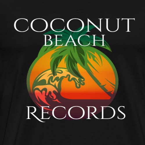 Beach Records - Men's Premium T-Shirt