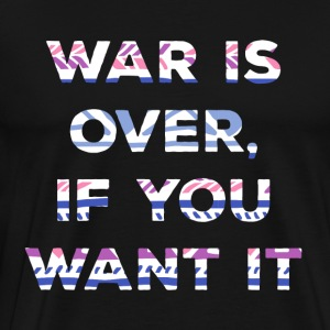 Hippie / Hippies: War is over, if you want it. - Männer Premium T-Shirt
