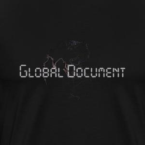Global Document Black - Männer Premium T-Shirt