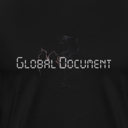 Global Document Black - Männer Premium T-Shirt