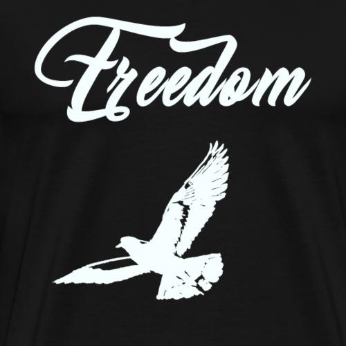 freedom blanc - T-shirt Premium Homme