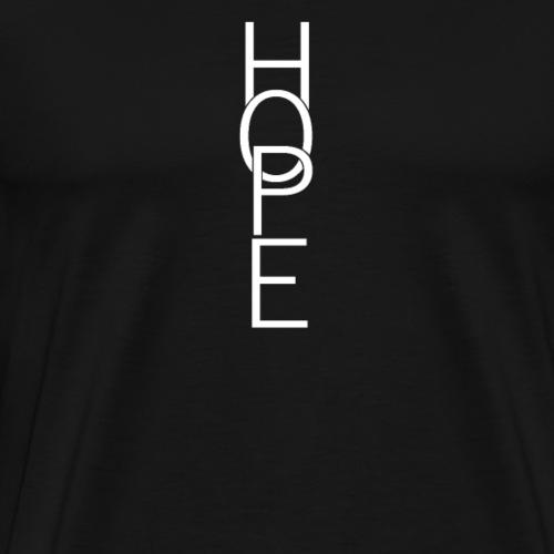 Hope Hoffnung - Männer Premium T-Shirt