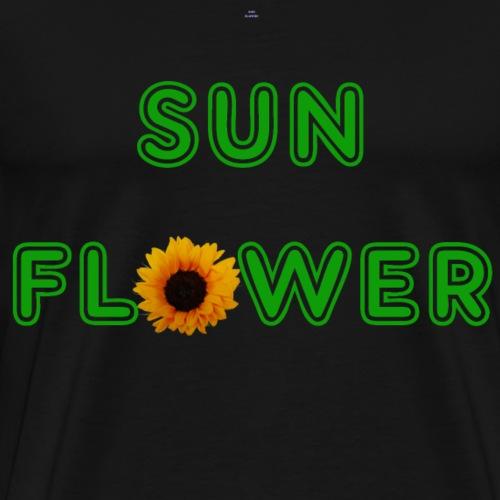 Sunflower Design - Männer Premium T-Shirt
