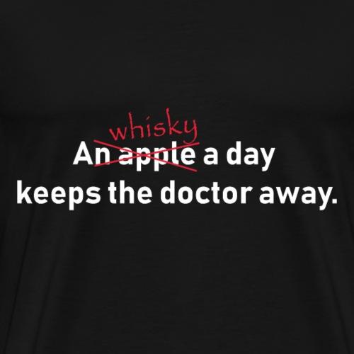 an apple a day whisky - Männer Premium T-Shirt