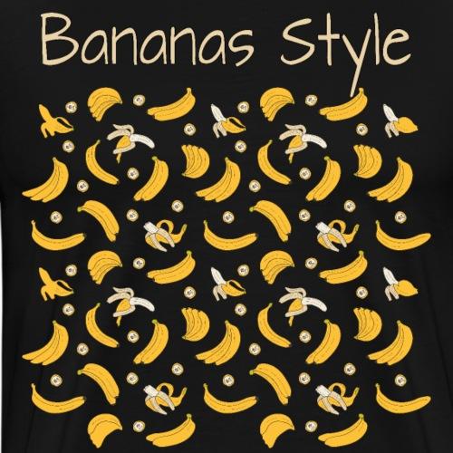 bananas style - T-shirt Premium Homme
