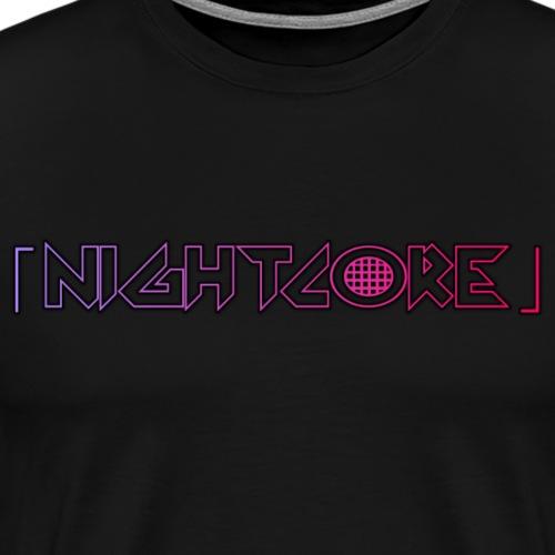 Nightcore - Männer Premium T-Shirt