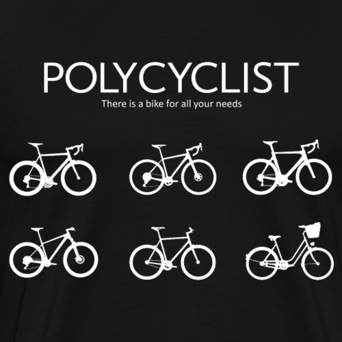 Polycyclist - Männer Premium T-Shirt