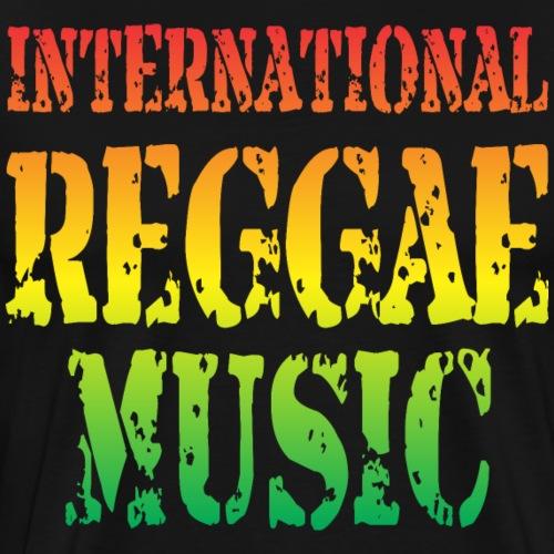 International Reggae Music - T-shirt Premium Homme