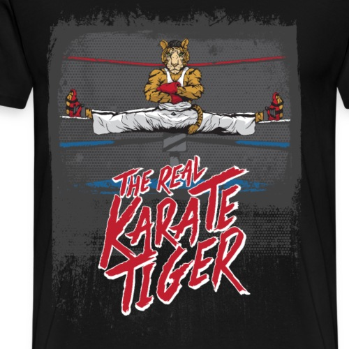 KARATE TIGER - Männer Premium T-Shirt