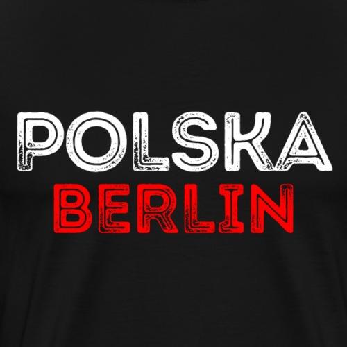 Polska Berlin Berlin Polska - Koszulka męska Premium