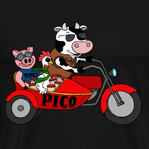 PICO - Männer Premium T-Shirt