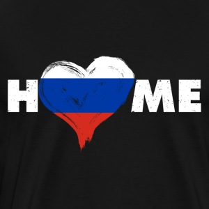 Russia Home love - Men's Premium T-Shirt