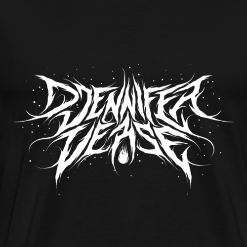 Djennifer Fresh Metal Design - Men's Premium T-Shirt