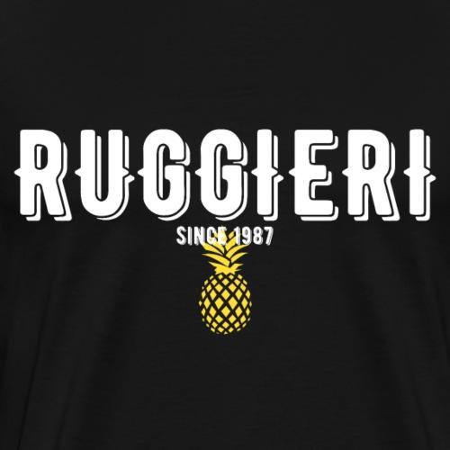 RUGGIERI since 1987 ANANAS - Männer Premium T-Shirt