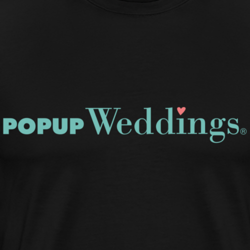 Popup Weddings - Men's Premium T-Shirt