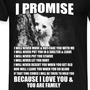 cat family - Männer Premium T-Shirt