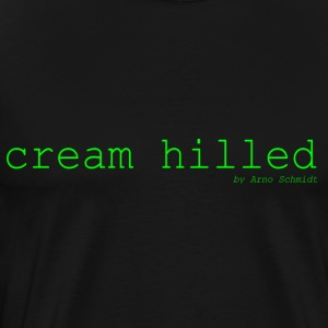 cream_hilled - T-shirt Premium Homme