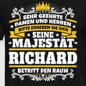 His Majesty Richard - Men's Premium T-Shirt