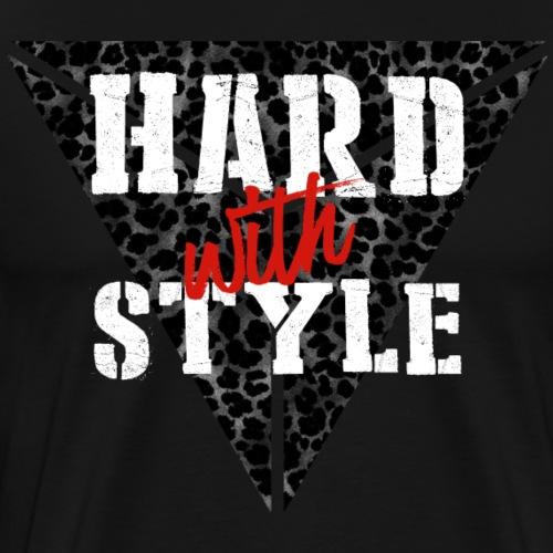Hard with Style Hardstyle merchandise - Männer Premium T-Shirt