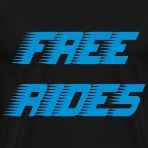 Free Rides - Mannen Premium T-shirt