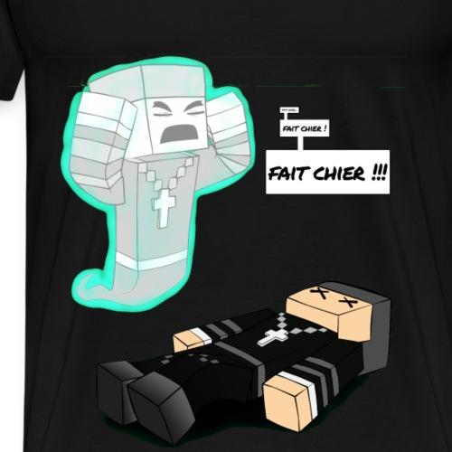La rage - T-shirt Premium Homme