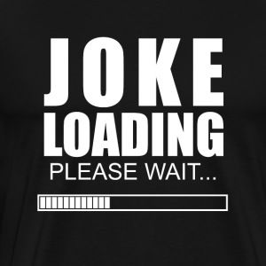 joke invitationer - Herre premium T-shirt