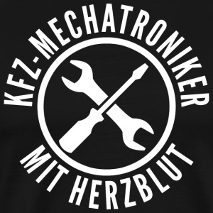 Automotive mechatronics with passion - Men's Premium T-Shirt