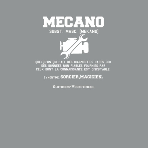 MECANO,definition. - T-shirt Premium Homme