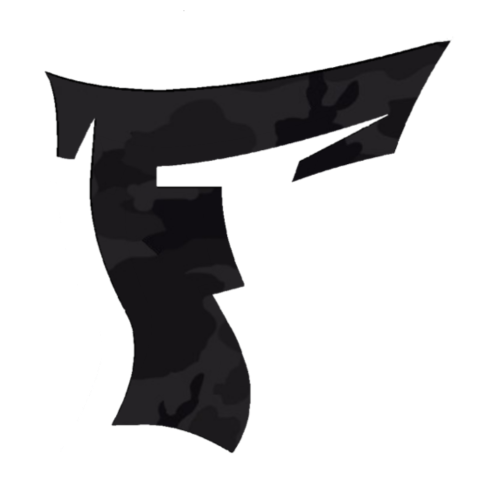 Tarnmuster mit F Logo in Weiß - Männer Premium T-Shirt