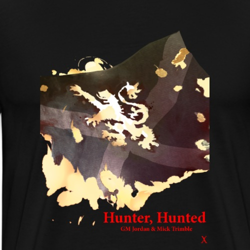 'Hunter, Hunted' Cover by Paul Fry - Men's Premium T-Shirt