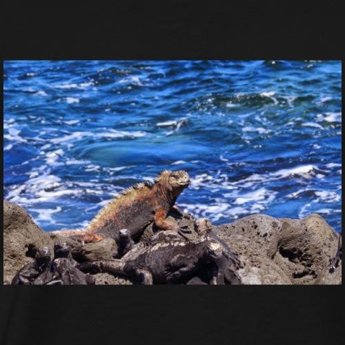 Auf den Galapagos Inseln - Männer Premium T-Shirt