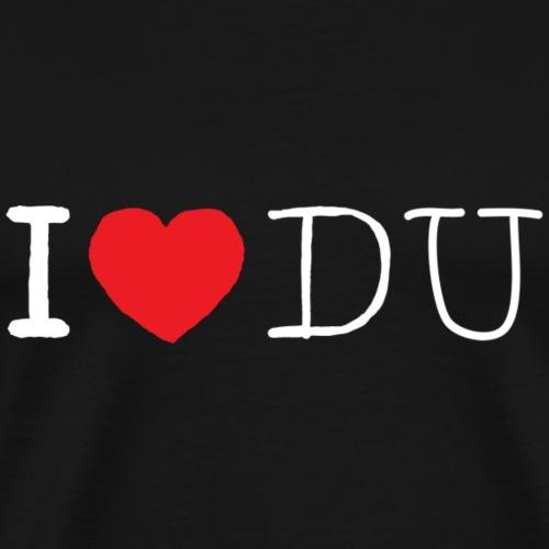 I heart Du - Männer Premium T-Shirt