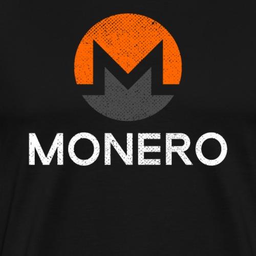 MONERO XMR Crypto Logo - Männer Premium T-Shirt