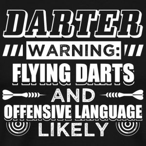 DART FLYING DARTS - Premium-T-shirt herr