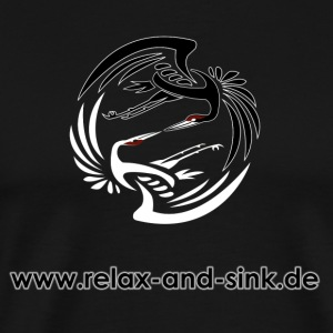 Relax and Sink - Männer Premium T-Shirt