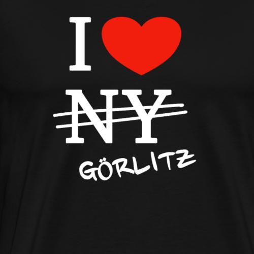 I love Goerlitz - Männer Premium T-Shirt