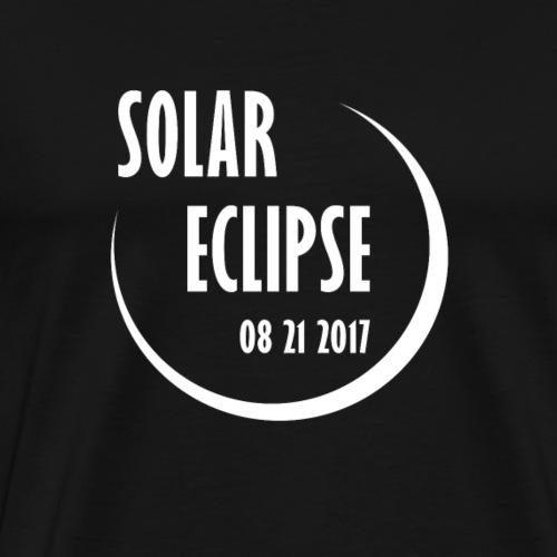 Solar Eclipse 2017 - Männer Premium T-Shirt