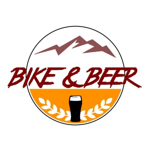Bike Beer white - Männer Premium T-Shirt
