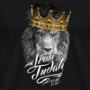 LION OF JUDAH - Mannen Premium T-shirt