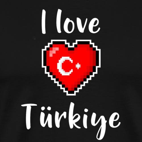 I love Türkiye - Männer Premium T-Shirt