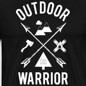 Outdoor Warrior - Männer Premium T-Shirt