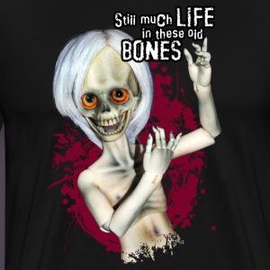 Morty, der fröhliche Knochenmann - Männer Premium T-Shirt
