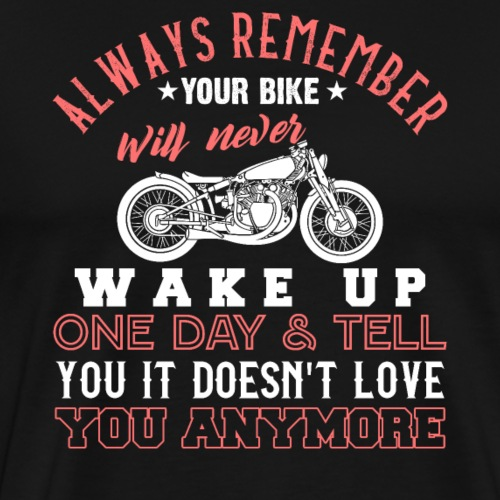 Classic Motorcycle Love Forever - Männer Premium T-Shirt