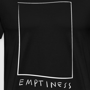 Tomhed - Empty - Herre premium T-shirt