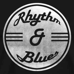 Rhythm & Blues - Herre premium T-shirt