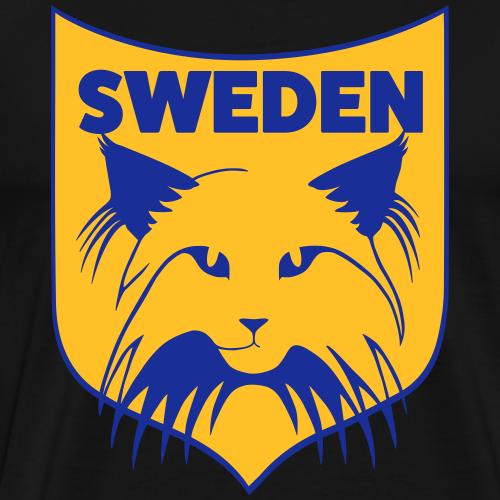 NORSK SKOGKATT SWEDEN - Premium-T-shirt herr