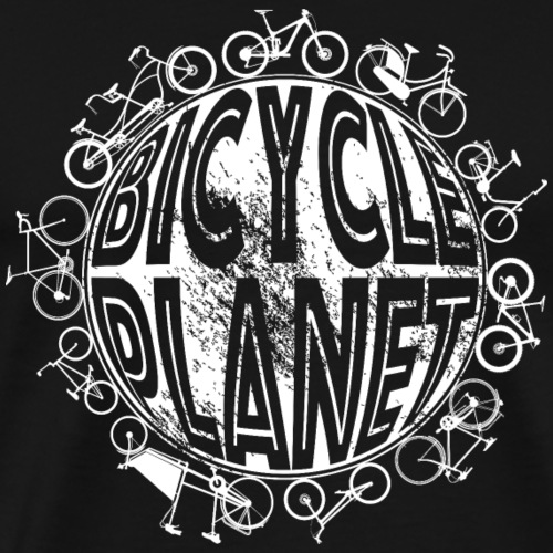 Fahrrad Radsport Bicycle Planet - Männer Premium T-Shirt