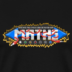PM'd for Maths #TTNM - Premium T-skjorte for menn