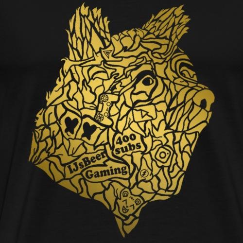 The Golden Bear - Mannen Premium T-shirt